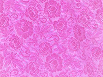 Pink lace flower background Stock Photo