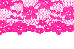 Pink lace Royalty Free Stock Photos