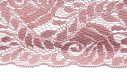 Pink lace pattern Royalty Free Stock Photo