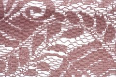 Pink lace pattern background Royalty Free Stock Images