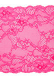 Pink lace trimmings Royalty Free Stock Images