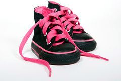 Pink Laces Stock Image