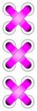 Pink lacing Royalty Free Stock Photo