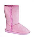 Pink ladies boot Stock Photography