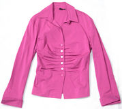 Pink ladies jacket. Royalty Free Stock Photography