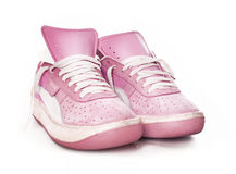 Pink Ladies Women S Sport Fashion Sneake Stock Photos