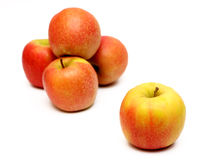 Pink Lady Apples Royalty Free Stock Photos