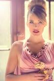 Pink lady Royalty Free Stock Image