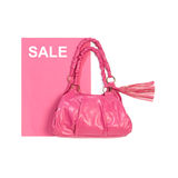 Pink lady bag Royalty Free Stock Photography