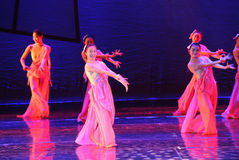 Pink Lady-The dance drama The legend of the Condor Heroes Royalty Free Stock Images