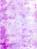 Pink and Lavender Abstract Art Painting Royalty Free Stock Photos