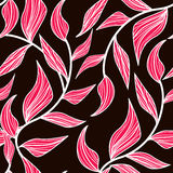 Pink leafs Royalty Free Stock Images