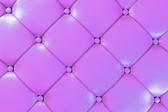 Pink Leather Background Royalty Free Stock Photography