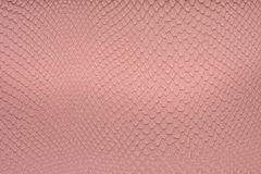 Pink leather, a background Royalty Free Stock Photography
