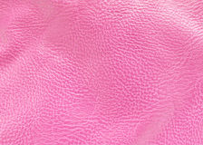 Pink Leather Background Royalty Free Stock Photo