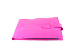 Pink Leather Bag Stock Images