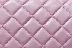 Pink leather texture. Texture of pink leatherbackground closeup Royalty Free Stock Image