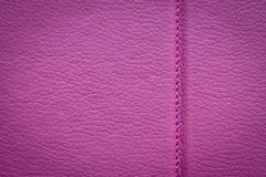 Pink leather texture. Leather texture back cover closeup Stock Image