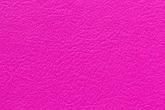 Pink leather texture background. For design art work Royalty Free Stock Images