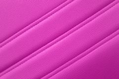 Pink leather for texture background from Office Chair royalty free stock photos