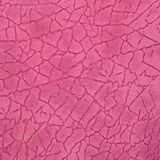Pink leather texture closeup Stock Photography