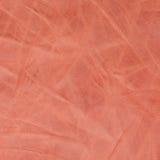 Pink leather texture closeup Royalty Free Stock Photos