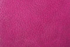 Pink leather texture. Or leather background for design with copy space for text or image Stock Photo