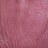 Pink Leather Texture. Natural pink leather texture close up Royalty Free Stock Image