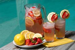 Pink lemonade Royalty Free Stock Image
