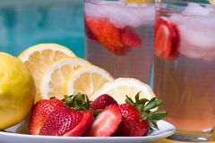 Pink lemonade Stock Image