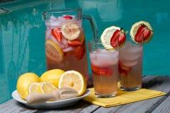 Pink lemonade Stock Images