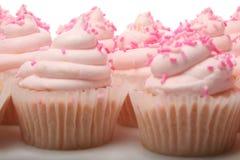 Pink Lemonade Cupcakes Stock Photos