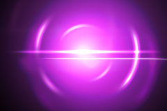 Pink lensflare Royalty Free Stock Photography