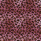 Pink leopard pattern. Pink leopard repeating pattern / background Stock Photography