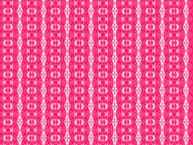 Pink letter. A textile pattern with interesting forms, a play between white and pink Royalty Free Stock Photography