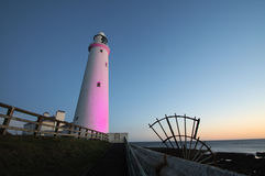 Pink Lighthouse Royalty Free Stock Photos