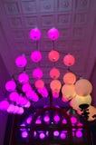 Pink lighting balls Royalty Free Stock Image
