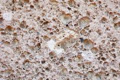 Pink limestone. Stock Image