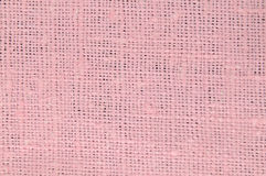 Pink linen Royalty Free Stock Photography