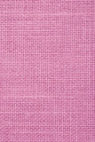 Pink Linen. Fabric close up Royalty Free Stock Photo