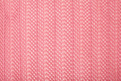 Pink linen fabric Royalty Free Stock Photos