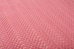 Pink linen fabric Stock Image