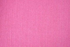 Pink linen fabric as background Stock Photography