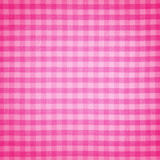 Pink linen fabrics Stock Photos