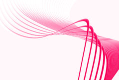 Pink lines Royalty Free Stock Image