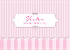 Pink lines background. Pink lines vector background with feminine theme Stock Image