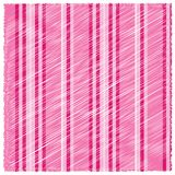 Pink lines background with white stripes Royalty Free Stock Image