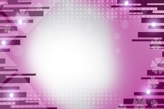 pink lines and stars, abstract background Royalty Free Stock Photography