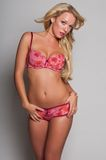 Pink lingerie Royalty Free Stock Photo