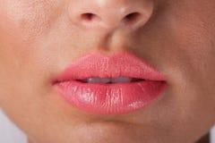 Pink Lips Stock Photo